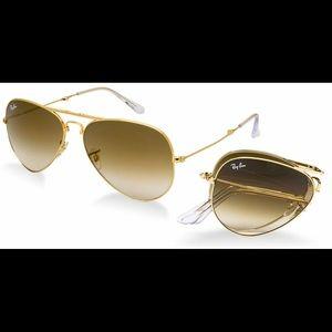 Ray Ban foldable sunglasses